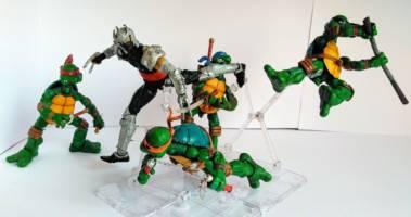 Teenage Mutant Ninja Turtles Shredder Toy : Idw shredder teenage mutant ninja turtles custom action figure