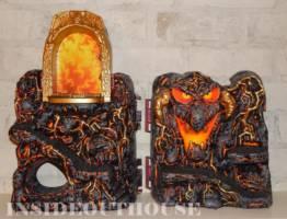 firey coal theme snake mountain masters of the universe custom
