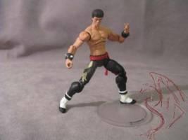 Marshall Law Tekken Custom Action Figure