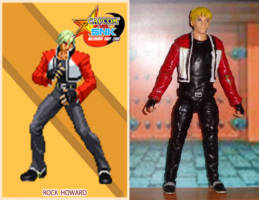 Rock Howard Capcom Vs Snk Custom Action Figure In late 1999, it wasn't easy to measure up in coolness with the many existing snk protagonists, but rock howard pulled it off. figure realm