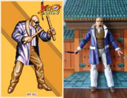 Mr Big Art Of Fighting Custom Action Figure
