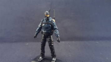 Street Ninja (G I  Joe) Custom Action Figure