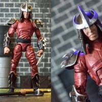 1990 Movie Shredder Teenage Mutant Ninja Turtles Custom Action