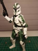Commander Gree (Star Wars Clone Wars) Custom Action Figure