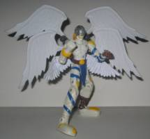 Angemon Digimon Custom Action Figure Angemon is an angel digimon whose name and design is derived from angel. figure realm