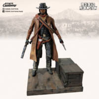 John Marston Duster Coat Outfit Red Dead Redemption