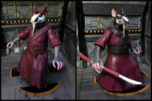 Master Splinter Teenage Mutant Ninja Turtles Custom Action Figure