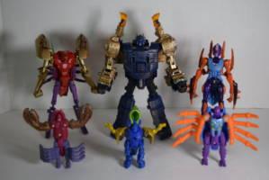 Beast Wars Transmetal Happy Meal Toys Reboot Transformers