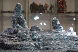 1/12 rock base (Marvel Legends) Custom Diorama / Playset