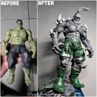 Doomsday Dc Universe Custom Action Figure