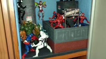 Rooftop Diorama 1/12 scale (Marvel Legends) (Marvel Legends