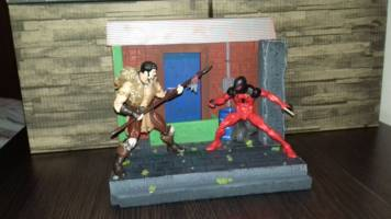 Back Entry Diorama (1/12 Scale) (Marvel Legends) Custom